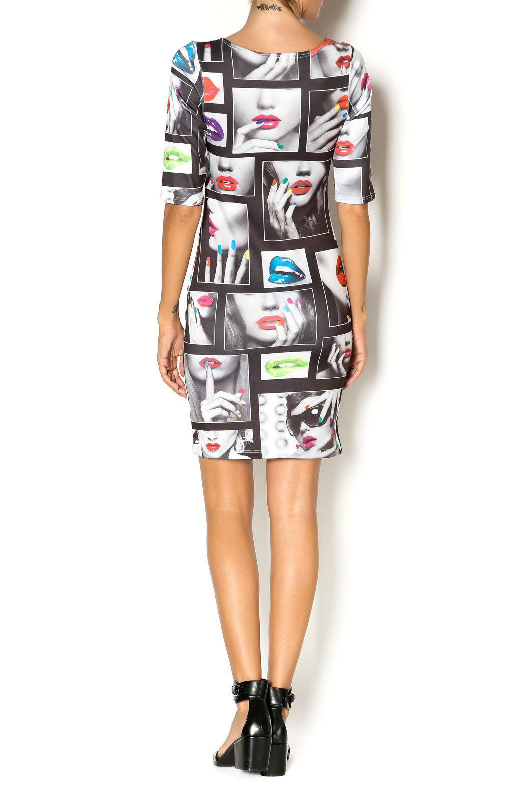 SJ Style Bodycon Dress - Side Cropped Image