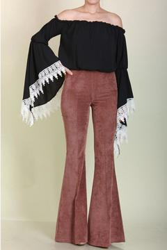 Shoptiques Product: Highwaisted Corduroy Bells