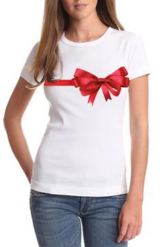 SJC Couture Tees Couture Bow Tee - Product List Image