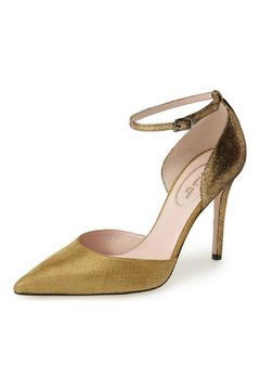 Shoptiques Product: Gold Bella Heel