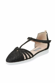 SJP Collection by Sarah Jessica Parker Meteor Black Glitter Flat - Product Mini Image