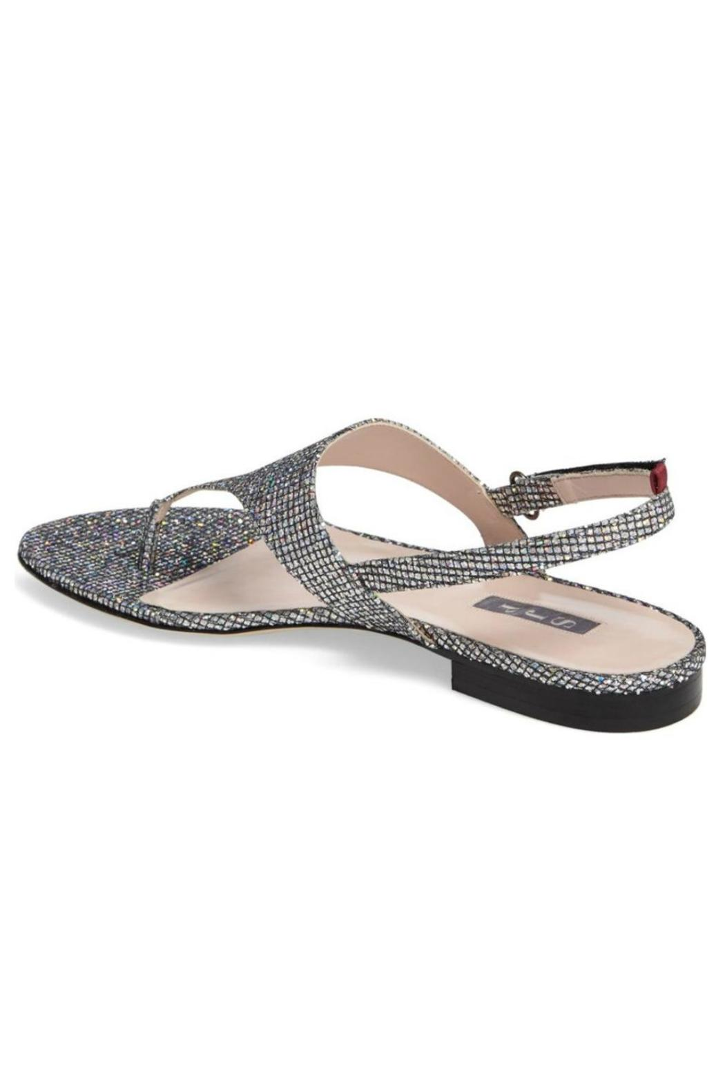 bbd8a88b7 SJP Collection by Sarah Jessica Parker Zoe Sparkle Sandal - Front Full Image