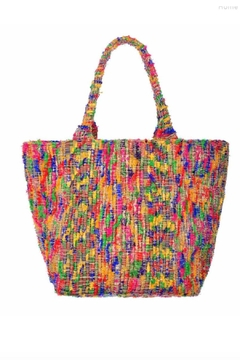 Guadalupe Design Skala Dhurrie Tote - Alternate List Image