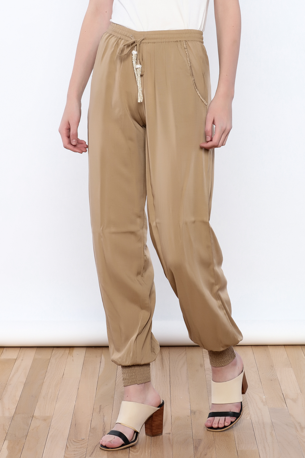 Skemo Dressy Joggers - Front Cropped Image