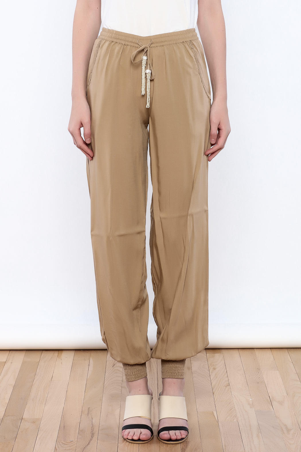 Skemo Dressy Joggers - Side Cropped Image