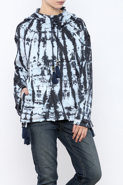 Shoptiques Product: Hooded A-Line Sweater