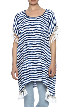 Shoptiques Product: Striped Beaded Kaftan