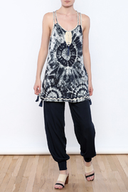 Skemo Tie Dye Tunic - Front full body