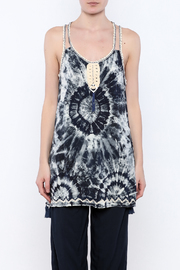 Skemo Tie Dye Tunic - Side cropped