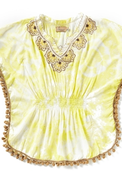 Shoptiques Product: Yellow Tiedye Coverup