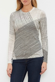 Whimsy Rose Sketch Butterknit L/S Crew - Product Mini Image