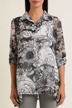 Shoptiques Product: Sketch Garden Tunic