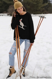 Wooden Ships SKI BUNNY SWEATER - Side cropped