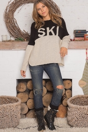 Wooden Ships SKI COLORBLOCK SWEATER - Side cropped