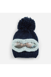 The Blueberry Hill Ski Goggles Beanie - Front cropped