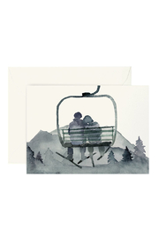 Lana's Shop Ski Gondola Love Card - Product Mini Image