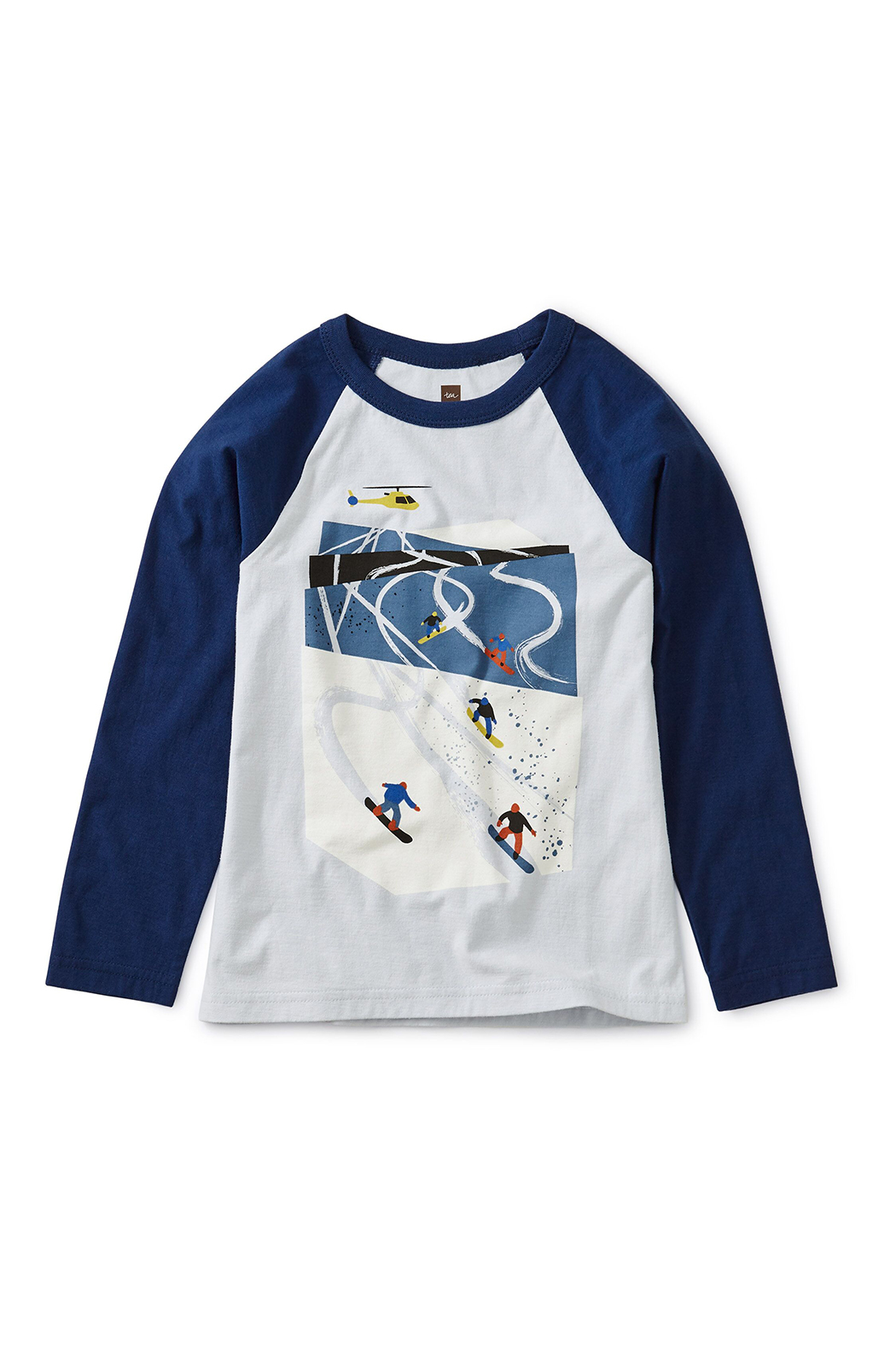 Tea Collection Ski Slopes Raglan Tee - Main Image