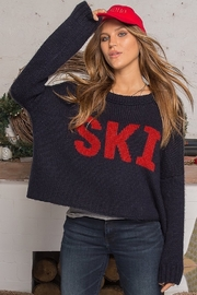 Wooden Ships SKI SWEATER - Front full body