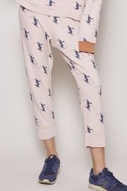 All Things Fabulous Skier Cropped Sweats - Product Mini Image