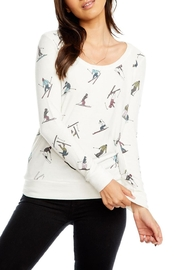 Chaser Skiers Long Sleeve - Front cropped