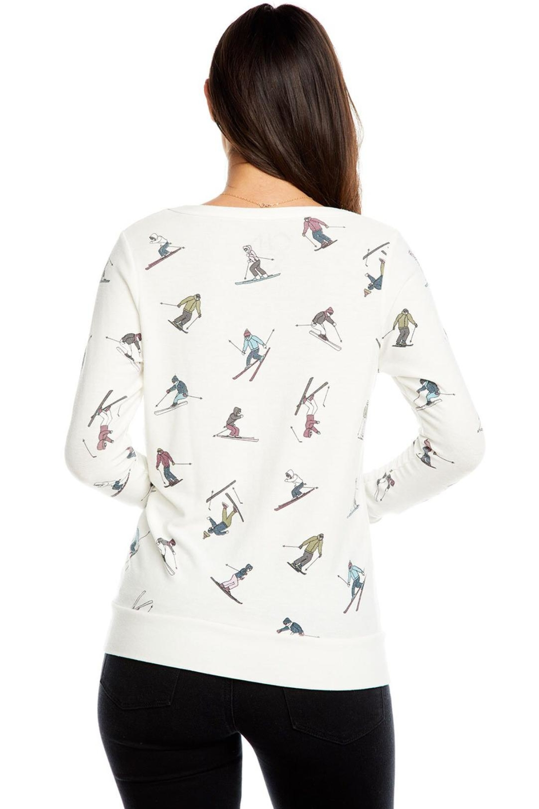 Chaser Skiers Long Sleeve - Front Full Image