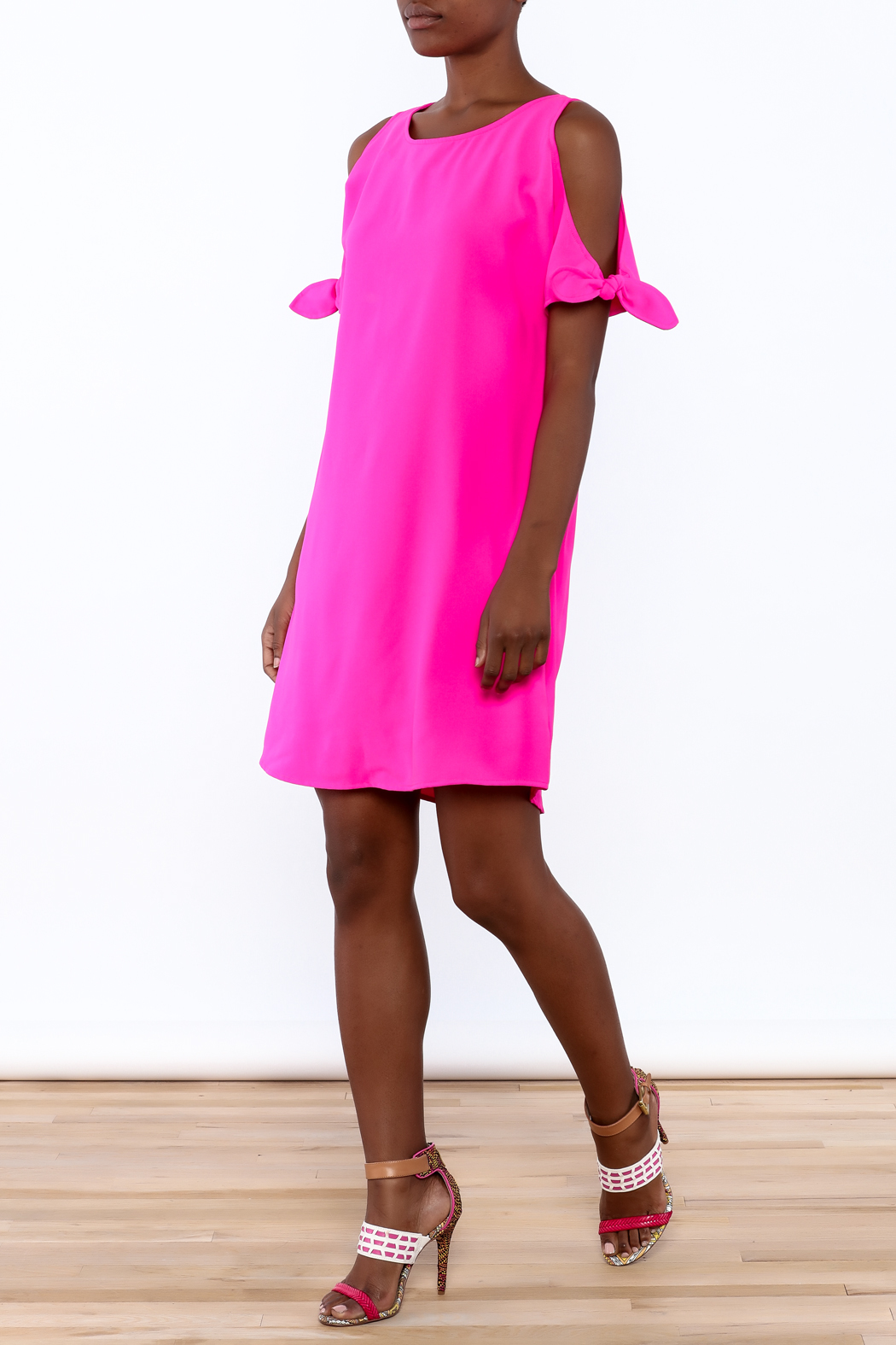 Skies Are Blue Bright Pink Dress From North Carolina By