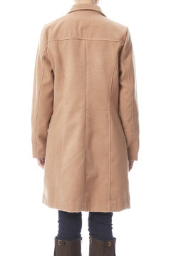 Shoptiques Product: Camel Wool Blend Trench