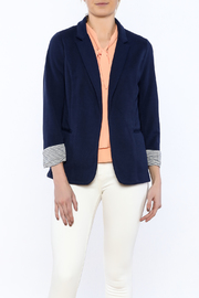 Skies Are Blue Classic Navy Blazer - Product Mini Image