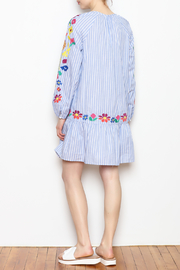 Skies Are Blue Embroidered Detail Dress - Other