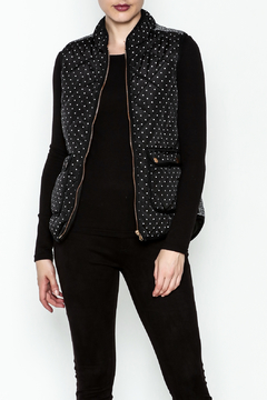 Shoptiques Product: Polka Dot Quilted Vest