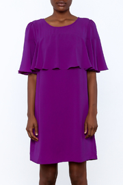 Skies Are Blue Regal Royal Dress - Side cropped