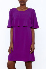 Skies Are Blue Regal Royal Dress - Front cropped