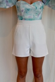 Skies Are Blue Beckham Shorts - Front full body