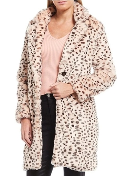 Shoptiques Product: Blush Leopard Coat