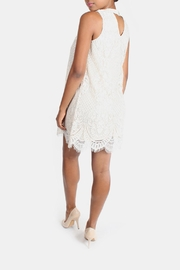 Skies Are Blue Cream Lace High-Neck-Dress - Other