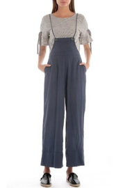 Skies Are Blue Crop Pant Overalls - Product Mini Image