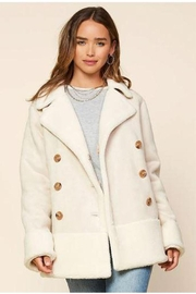 Skies Are Blue Faux Shearling Coat - Product Mini Image