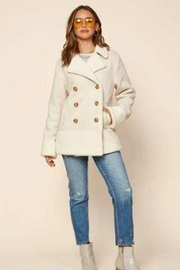 Skies Are Blue Faux Shearling Jacket - Product Mini Image