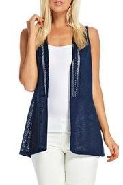 Skies Are Blue Lace Vest - Product Mini Image