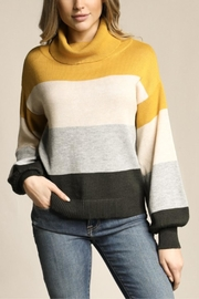 Skies Are Blue Little Ray Of Sunshine Sweater - Back cropped