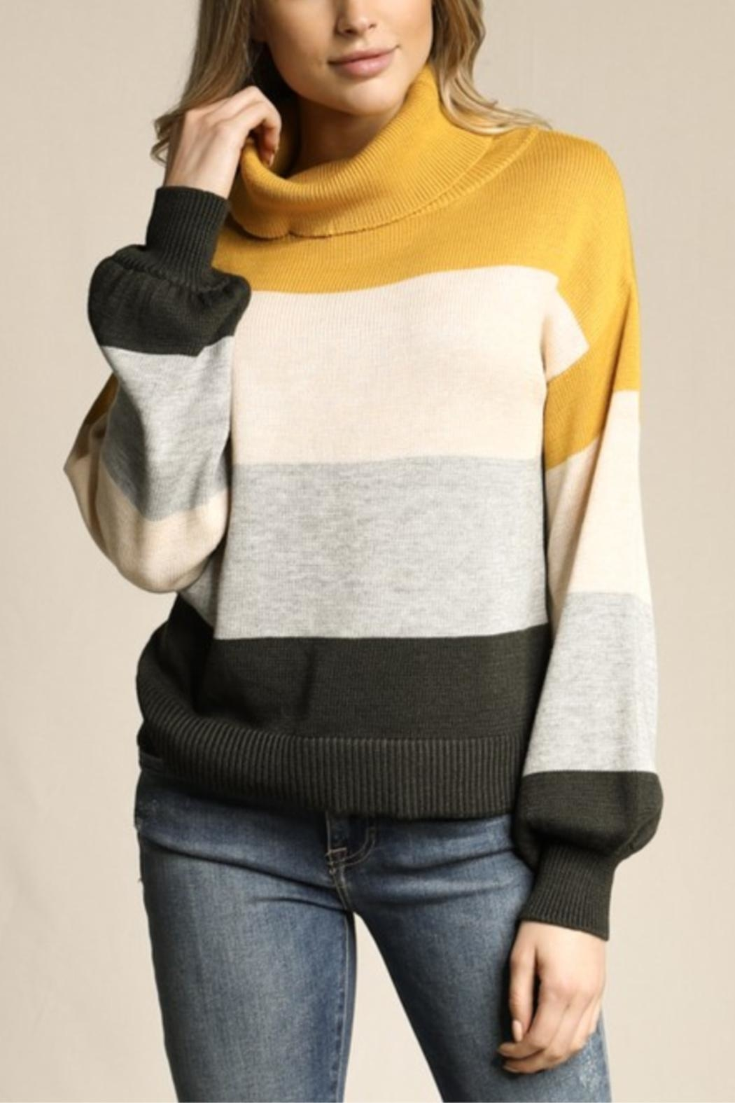 Skies Are Blue Little Ray Of Sunshine Sweater - Front Full Image