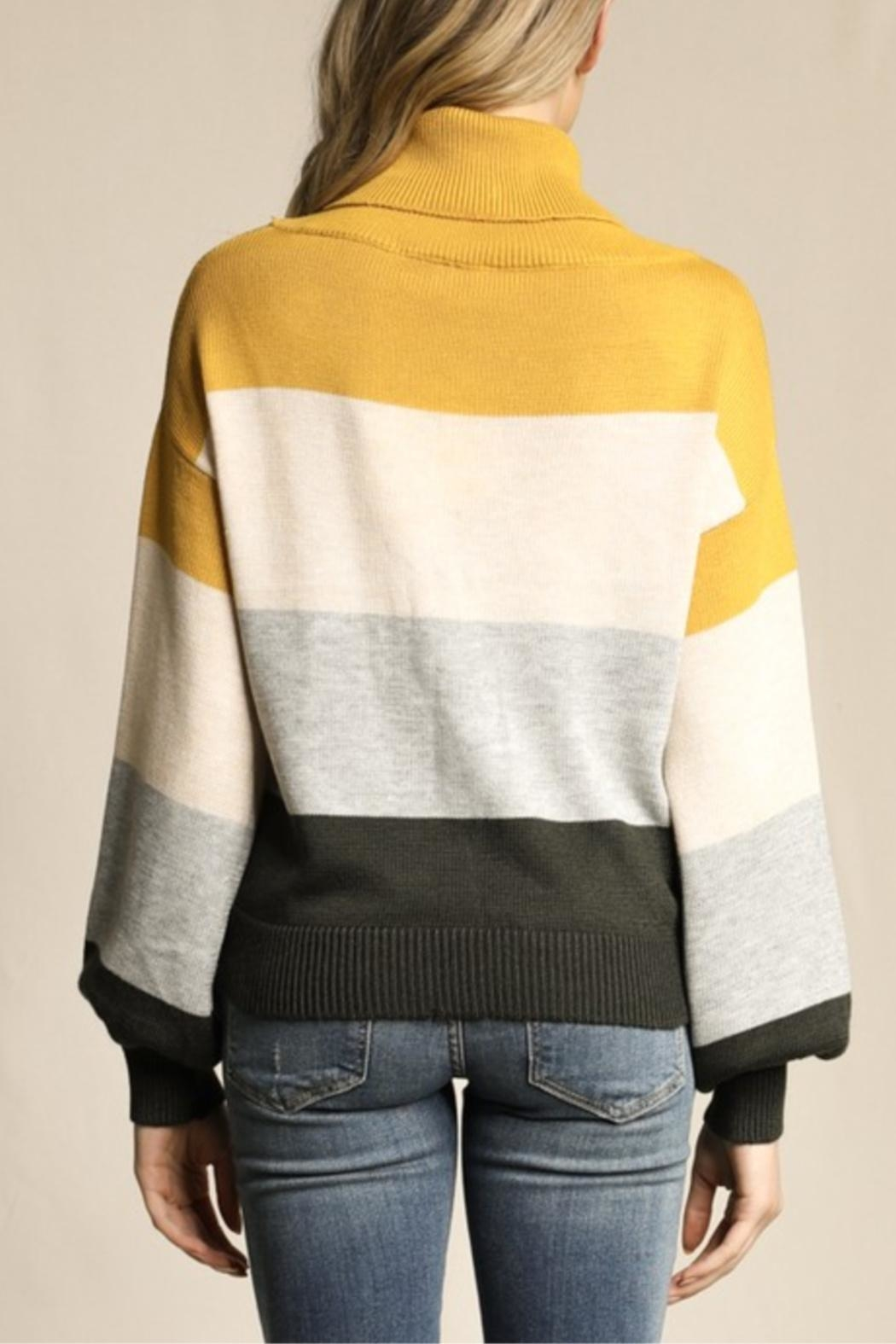 Skies Are Blue Little Ray Of Sunshine Sweater - Side Cropped Image