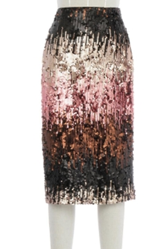 Shoptiques Product: Mulitcolored Sequined Skirt