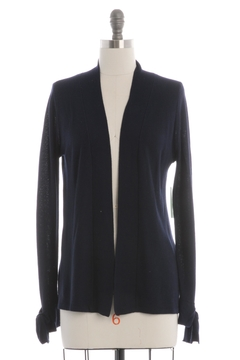 Skies Are Blue Navy Knit Cardigan - Product List Image