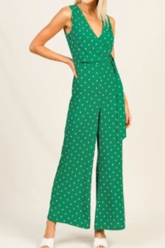 Shoptiques Product: Polkadot Jumpsuit