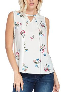 Shoptiques Product: Sleeveless Print Top
