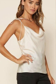 Skies Are Blue Tie Strap Cami - Front full body