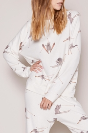 All Things Fabulous Skiing Raccoons Sweater - Product Mini Image