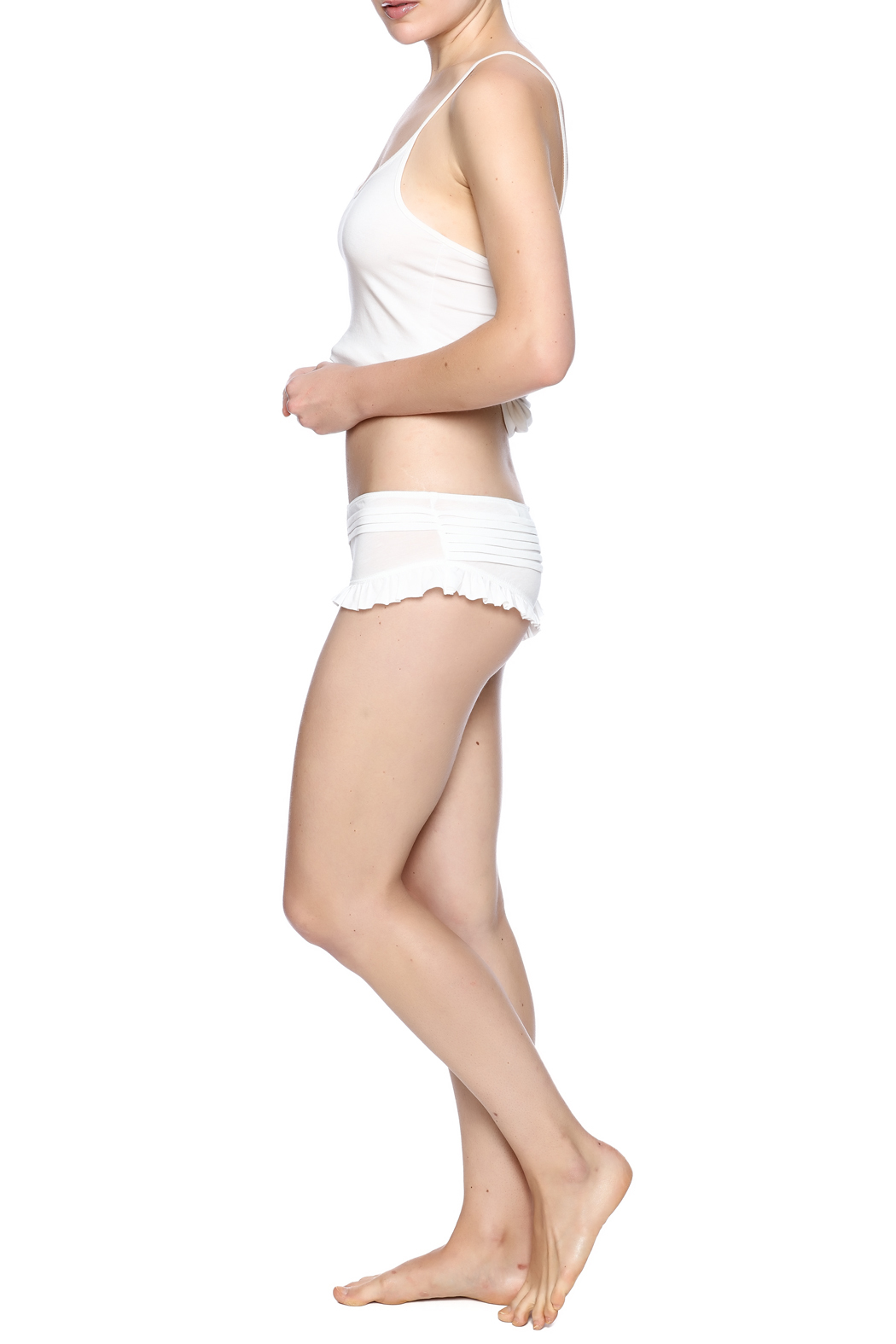 Skin World Wide Pleated Ruffle Panty From Idaho By