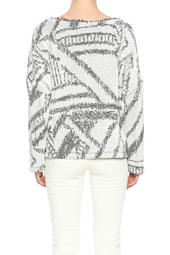 Shoptiques Product: Textured Jacquard Sweater